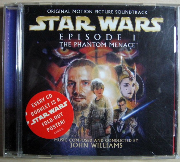 John Williams - Star Wars - Episode I: The Phantom Menace (original Motion Picture Soundtrack)