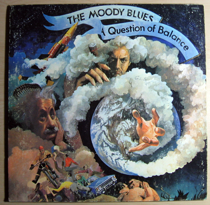 Moody Blues A Question Of Balance Records, LPs, Vinyl and CDs ...