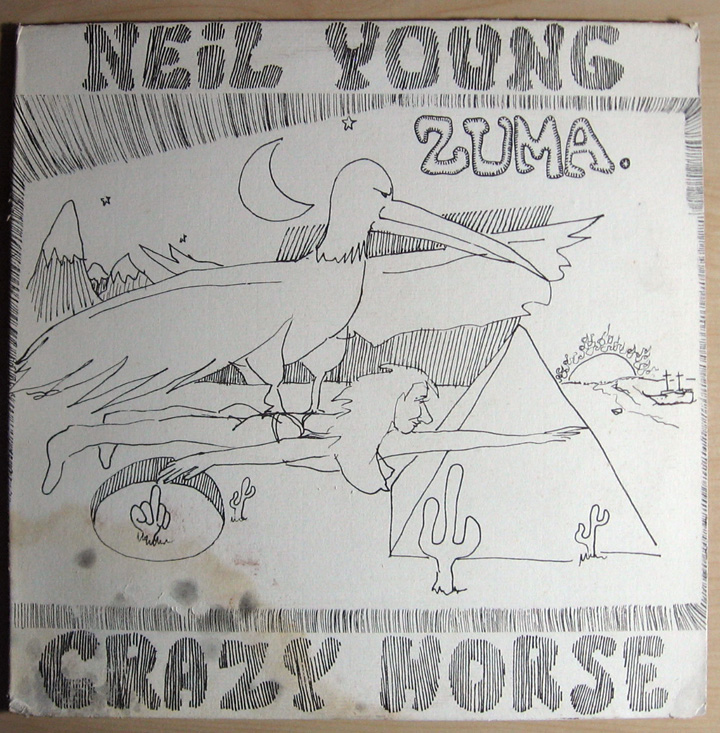 Neil Young Zuma Records Lps Vinyl And Cds Musicstack
