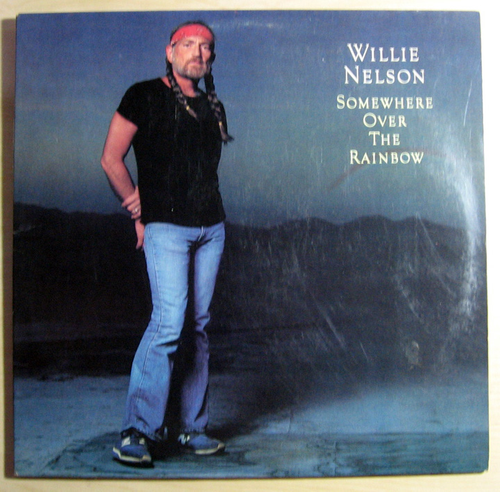 Willie Nelson Somewhere Over The Rainbow Records Vinyl